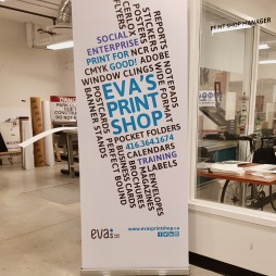 PRINT SHOP - BANNER STAND