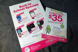 MOBILICITY 'BACK TO SCHOOL' - ADS