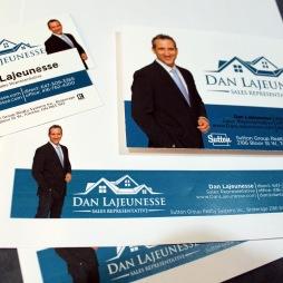 DAN LAJEUNESSE - BUSINESS CARD, POST CARD, LETTERHEAD & MORE...