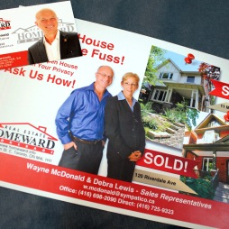 HOMEWARD / WAYNE MCDONALD - BUSINESS CARD & POST CARD
