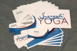 SVENGALI YOGA - BUSINESS CARD, LETTERHEAD, COUPON AND MORE
