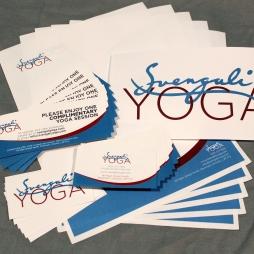 SVENGALI YOGA - BUSINESS CARD, LETTERHEAD, COUPON AND MORE