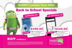 MOBILICITY 'BACK TO SCHOOL' - AD